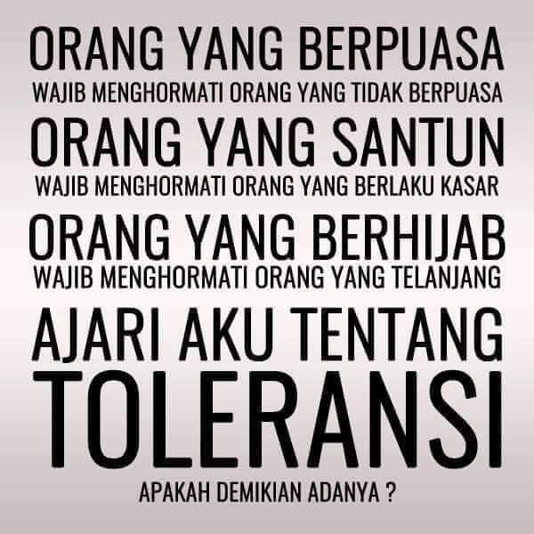 """Kumpulan Meme Tentang """" Toleransi KEBABLASAN """""""