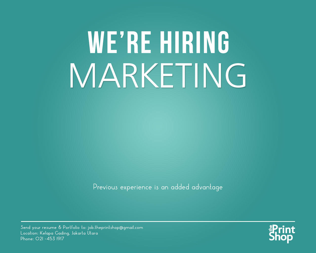 Hiring Marketing