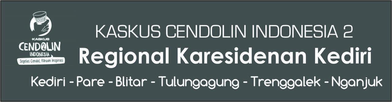 [INVITATION KASKUS CENDOLin INDONESIA 2] Reg. Karesidenan Kediri