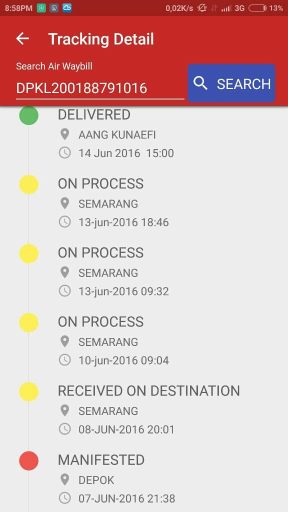 Ada Apa Dengan JNE. Status Delivered Barang Belum Sampai.