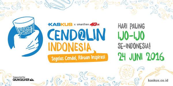 Rayakan Hari Paling Ijo-Ijo, Ikutan KASKUS Cendolin Indonesia Yuk!