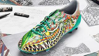 7 Desain Sepatu Sepakbola Unik Para Pemain Sepakbola Dunia