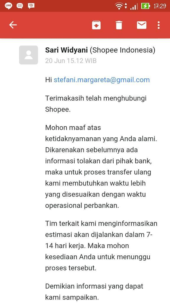 Refund Shopee Lama Banget