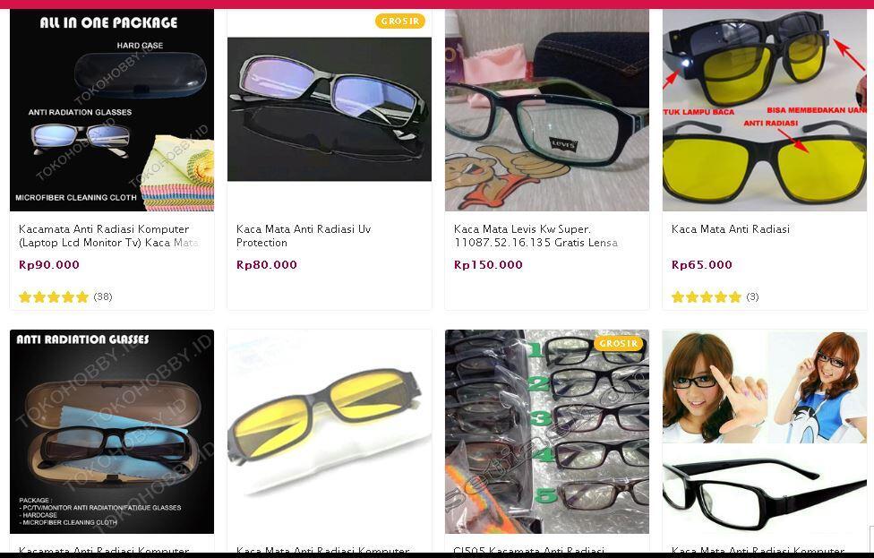 ASK: Manfaat Kacamata Anti Radiasi