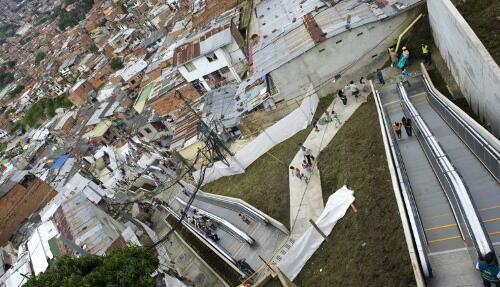 Seperti Apa Eskalator yang Tingginya 384 Meter?