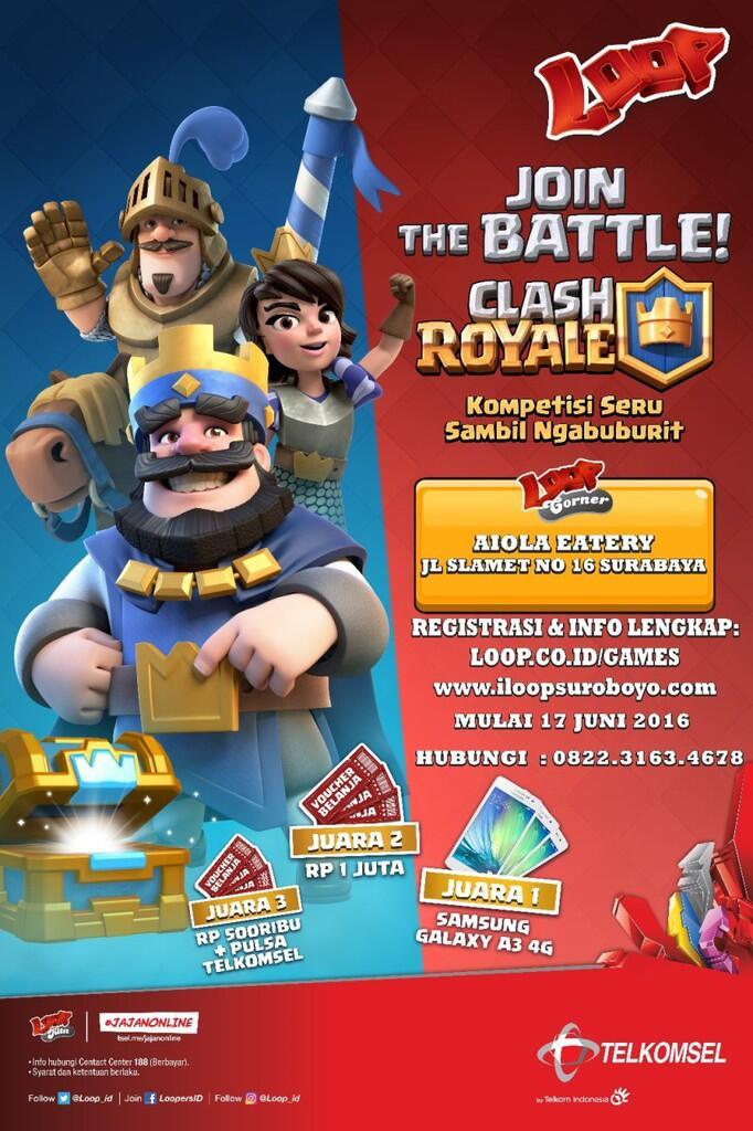 Kompetisi Clash Royale - Surabaya