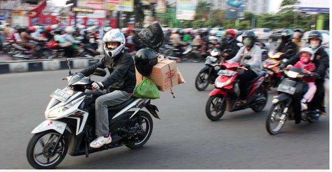 Jonan bingung rakyat lebih suka naik motor ketimbang mudik gratis