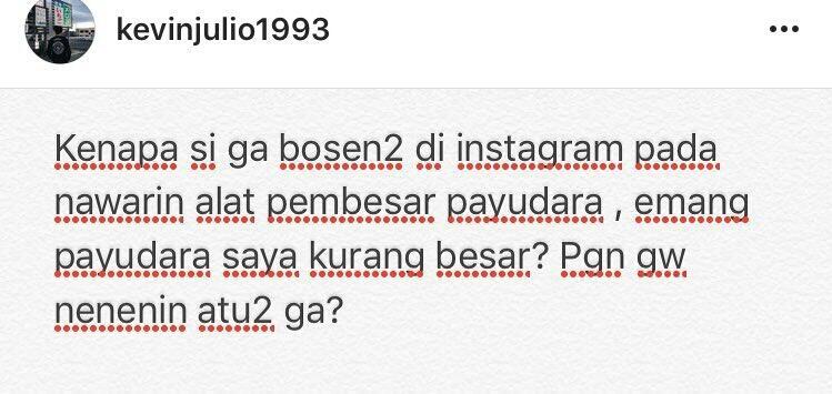 Terganggu Iklan Pembesar Payudara di Instagram, Reaksi Artis Hingga Netizen Ini Bikin