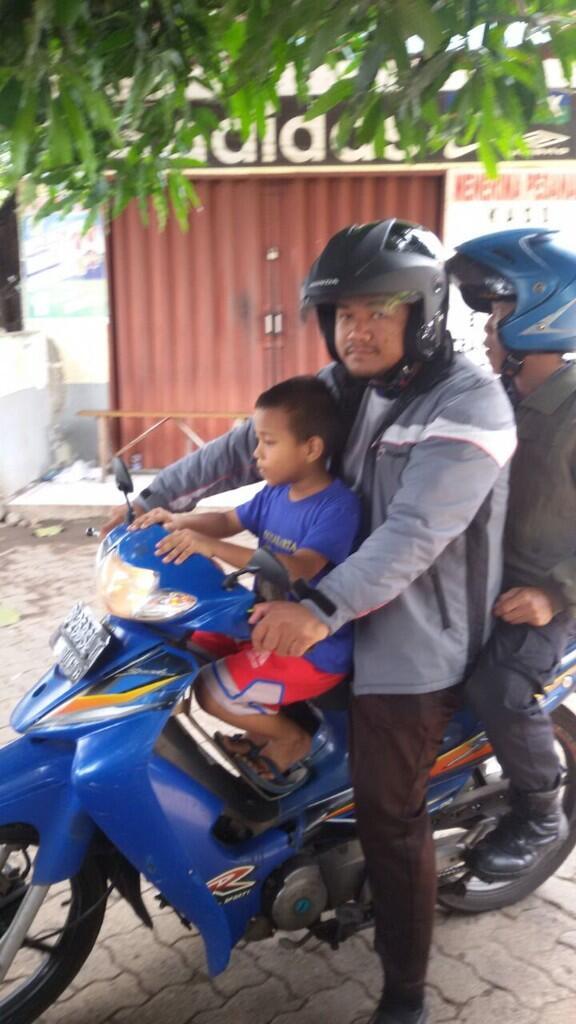 Anak Empat Tahun Tersesat Berhasil Kembali ke Keluarga
