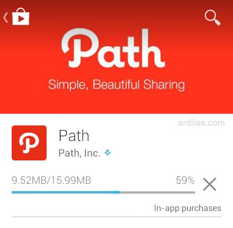 RAHASIA #PathDialy Fitur Baru dari Path !!!