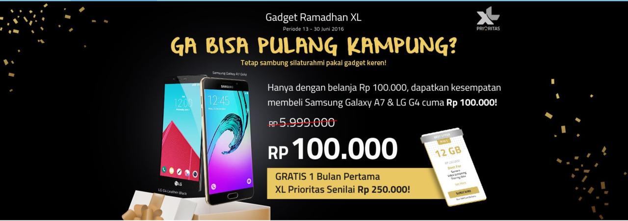GALAXY A7 dan LG G4 Hanya Rp 100.000 disini!