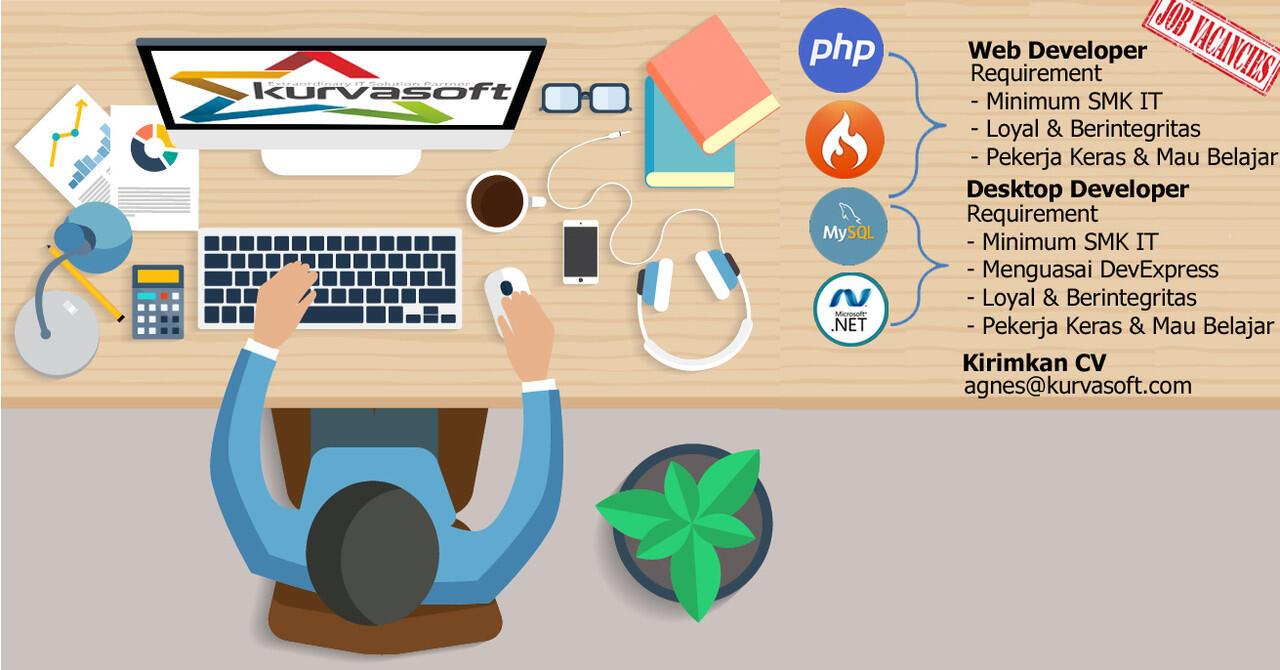 [Bandung] Lowongan Pekerjaan IT Desktop Developer dan Web Developer