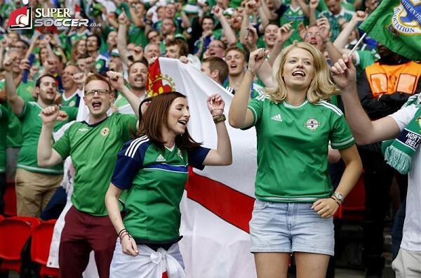 Suporter Irlandia Utara Adalah Yang Terbaik