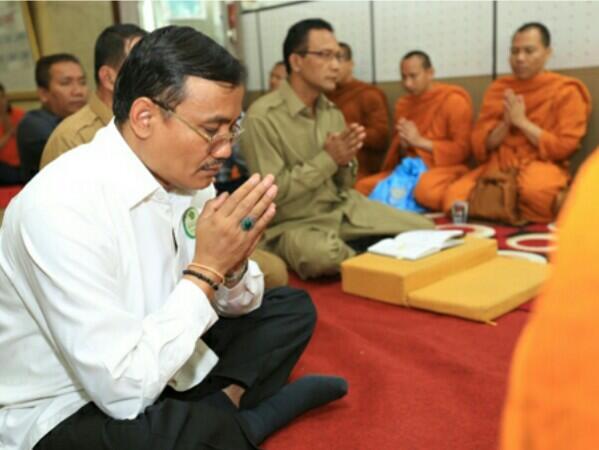 Korupsi Buku Agama, Dirjen Binmas Budha Mendekam di Rutan Salemb