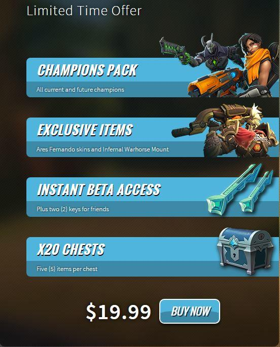 PALADINS | CHAMPIONS OF THE REALM |