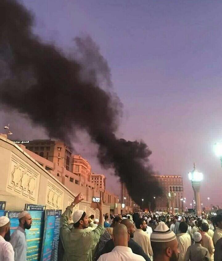 Terjadi ledakan bom bunuh diri di kota madinah, Arab Saudi!!!