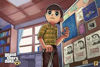 Beginilah Jadinya Kalau Semua Tokoh Doraemon Masuk Dalam Dunia Ala