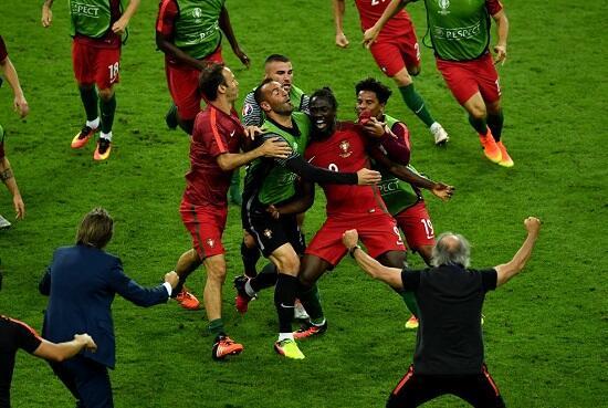 Sejarah Terukir, Piala Pertama Portugal!