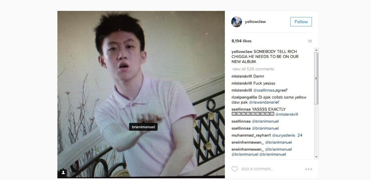 Ini Reaksi Rapper Dunia Terhadap Rich Chigga, Rapper Remaja Asli Indonesia