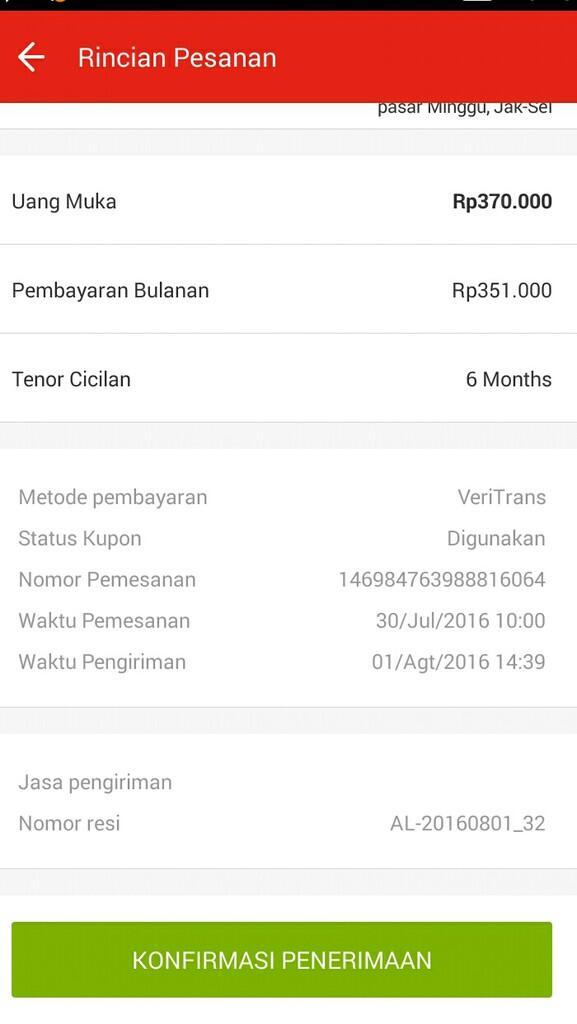 Akulaku Aplikasi Online Berbelanja Kredit Tanpa Kartu Kredit