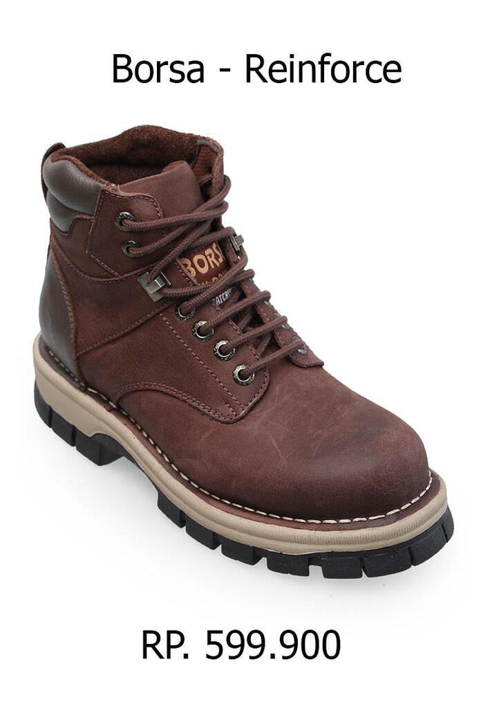 Terjual Sepatu kulit asli merk BORSA 100% ORIGINAL  cbee0cfe14