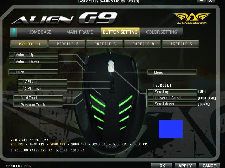 Logitech g9 laser mouse driver for windows mac.