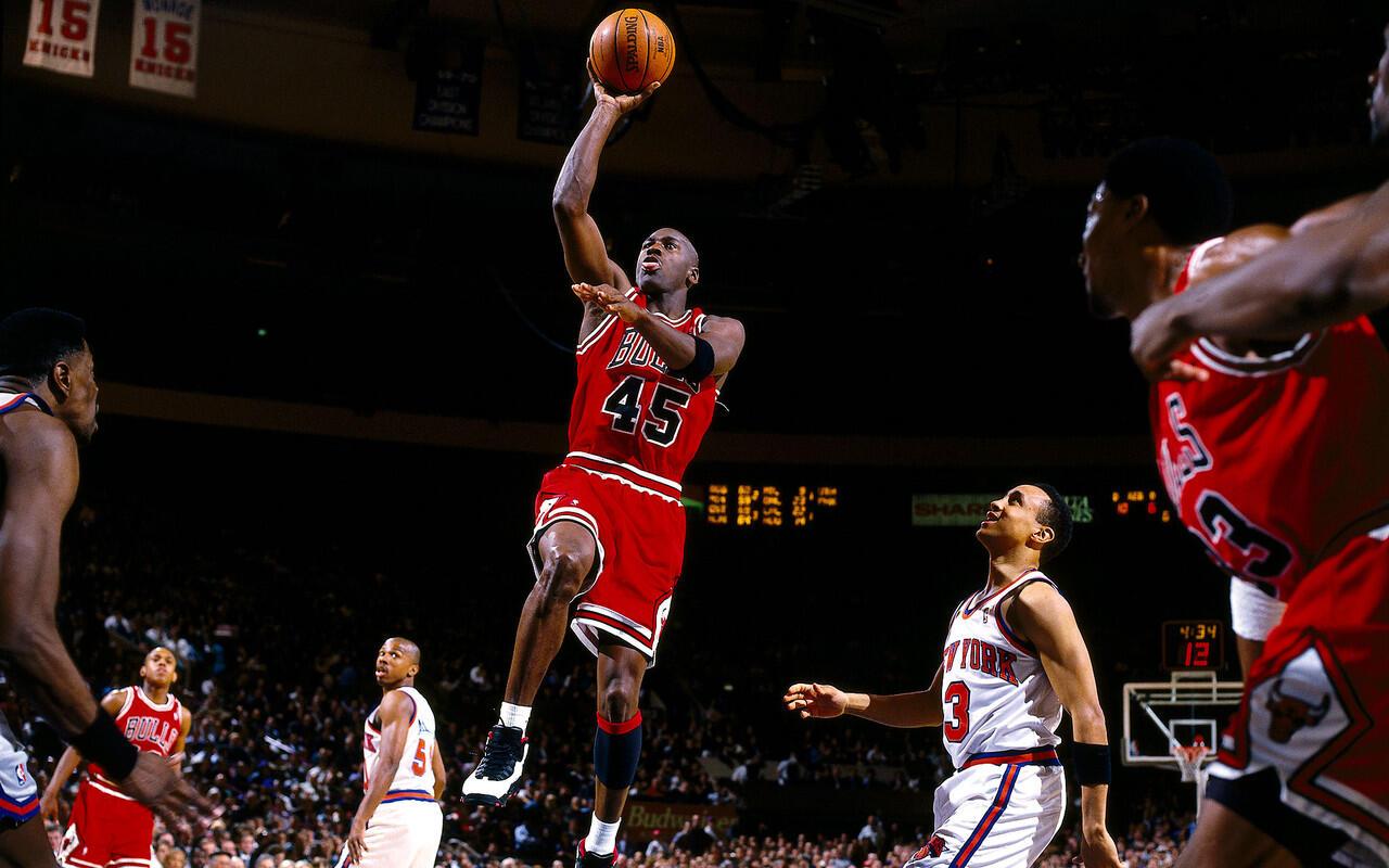 Michael Jordan dan Tiga Kaos Bekas