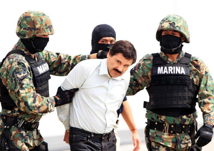 Rumah Gembong Narkoba El Chapo Pas Digerebek Gan!! GREGET
