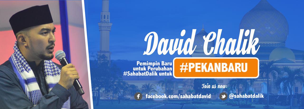 Satu satunya calon muda di Pilkada Kota Pekanbaru