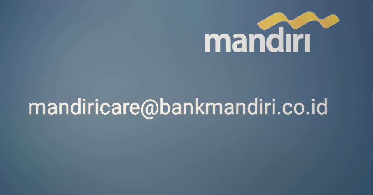 Email Resmi Bank Mandiri Kaskus