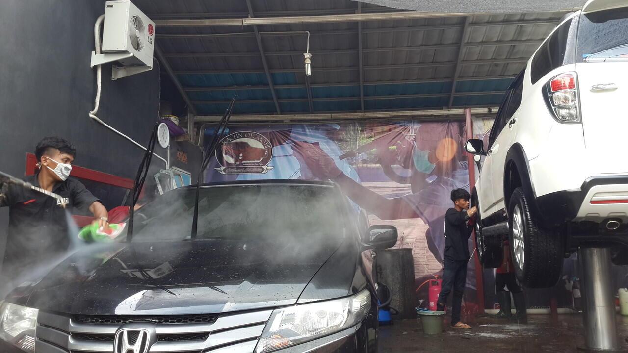 Terjual Jasa Premium Steam Wash Cuci Uap Premium Racun