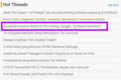 Kumpulan Kostum Robot Di Film Paling Canggih, Yg Mana Favoritmu?