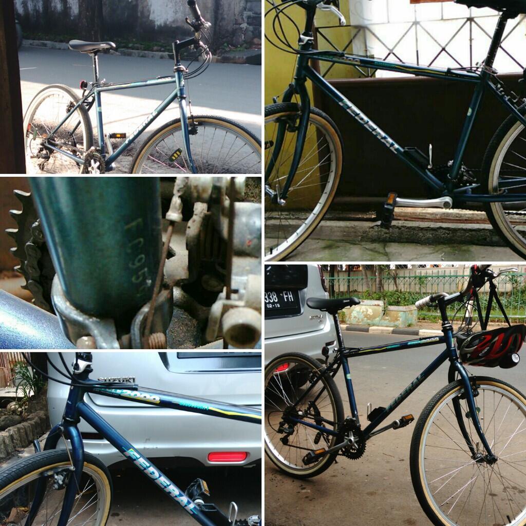 Kumpulan Modifikasi Sepeda Federal Touring | Modifikasimania
