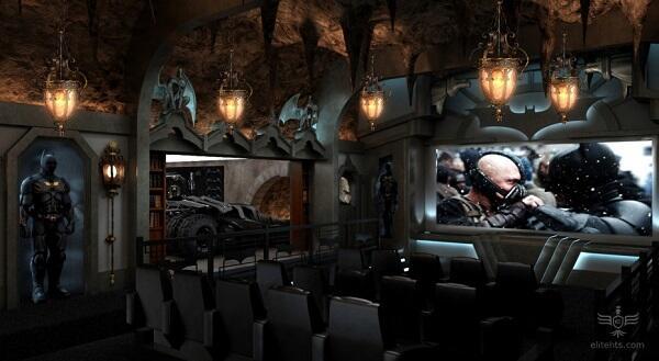 Inilah Dia Ruang Nonton Berdekorasi Maksimal Buat Penggila Film...