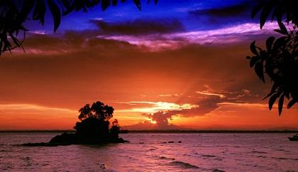 Best Sunset View in Indonesia #BeautifulIndonesia