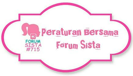 Peraturan Bersama Forum Sista