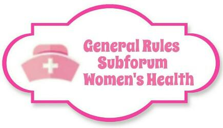 Rules SF Women's Health. Read this before posting and making new thread