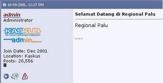 ۩۞۩ [ALL-NEW] DeGo-DeGo (Lounge Kaskuser se-Sulawesi Tengah) tetamu wajib Prime ۩۞۩ - Part 1