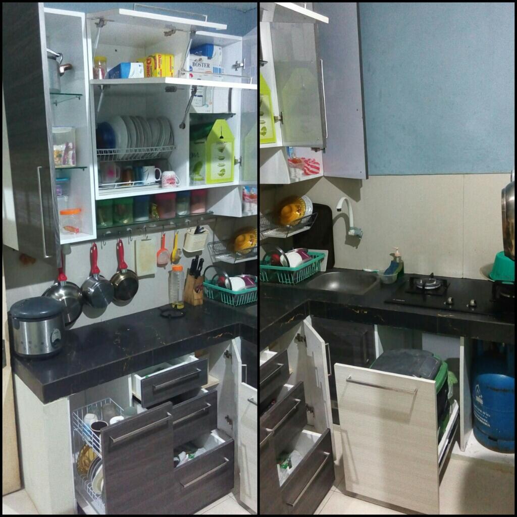 Kitchen Set Jadi: Buat Kitchen Set Sendiri