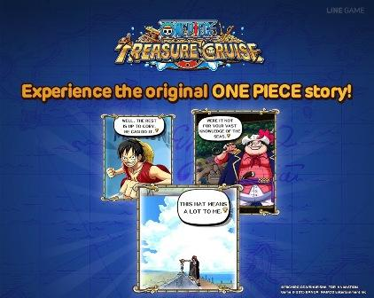 LINE: One Piece Treasure Cruise Official