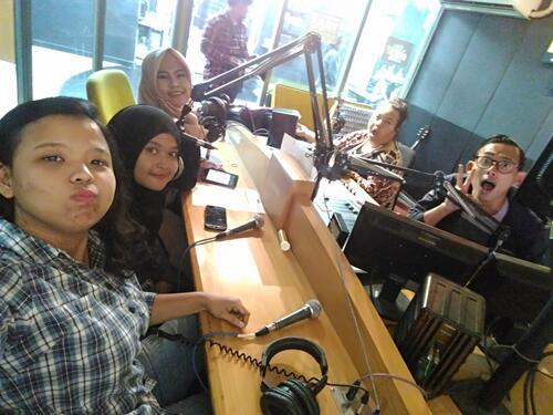 [FR] Forum Sista Mengudara di Kompak Bareng Komunitas Kaskus Trax FM