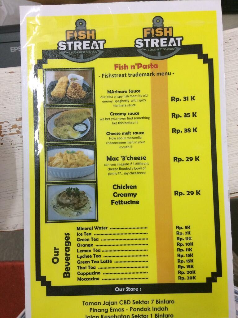 fish streat jl kesehatan raya bintaro jakarta selatan