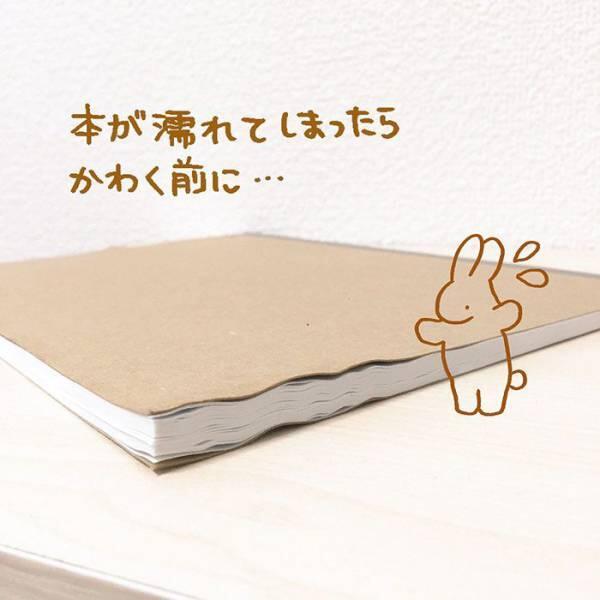 Trik Ajaib Keringin Buku yang Basah Tanpa Perlu Dijemur.