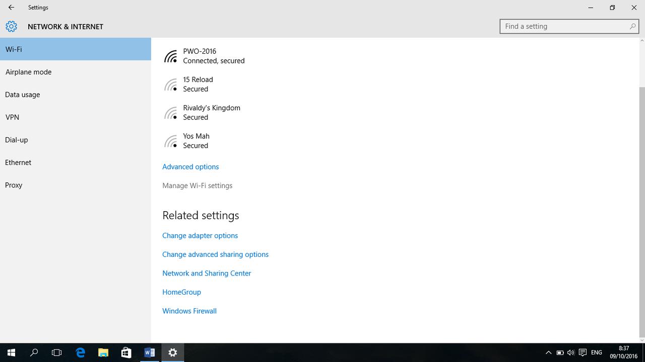 Cara setting laptop jika wifi tidak bisa connect karena ganti password