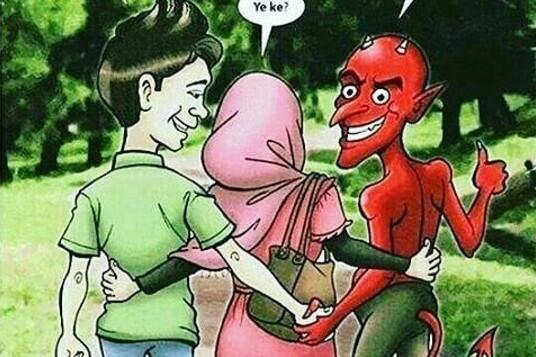 """Bukti Ilmiah Kebenaran Hadis Nabi: """"Laki2 Berdua Perempuan Ketiganya Setan"""""""