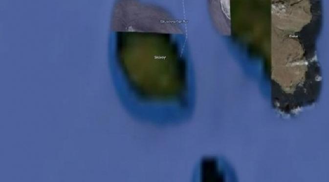 """9 Lokasi Misterius di Bumi yang """"Dirahasiakan"""" Google Earth"""