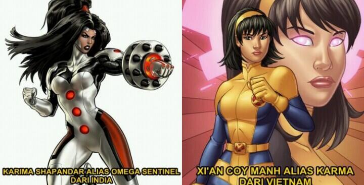 Tak Melulu Hollywood, 6 Super Hero Marvel Ini Ternyata Dari Asia