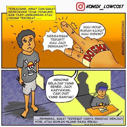 KOMIK_LOWCOST | Balada kehidupan masyarakat Indonesia (Comic Strip)
