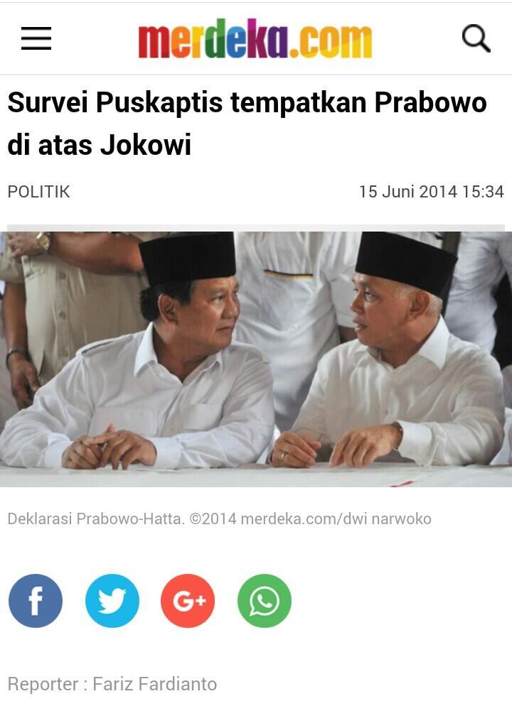 Gerindra dan PKS Akui Tak Terpengaruh Hasil Survei