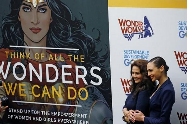 Kendati ditentang, PBB tetapkan Wonder Woman jadi Duta Kehormatan